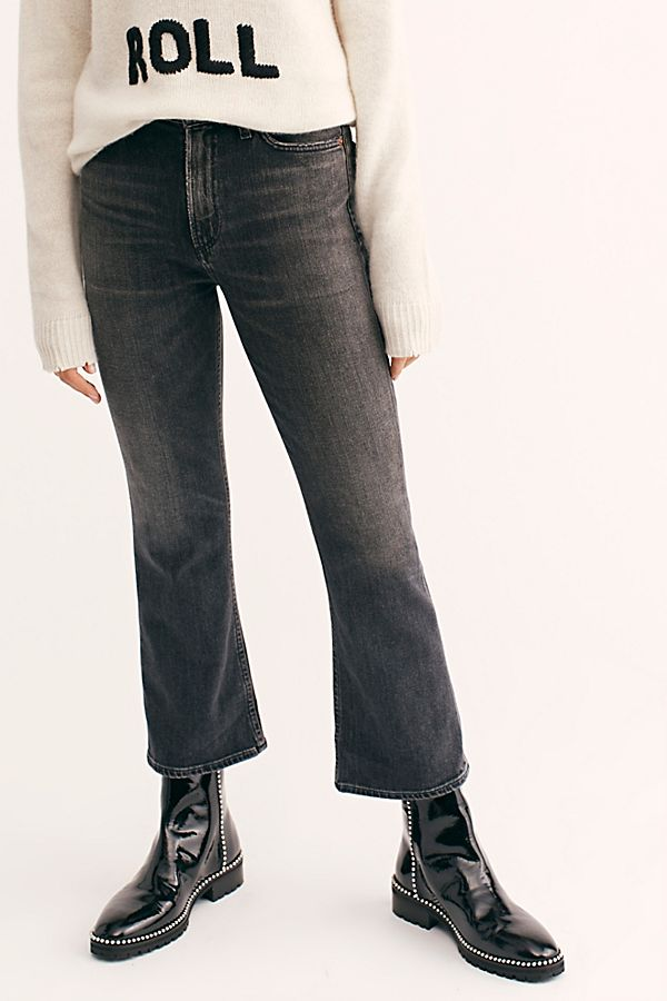 Citizens Of Humanity Uk Flare JeansFree Demy Cropped People m0Nv8nw