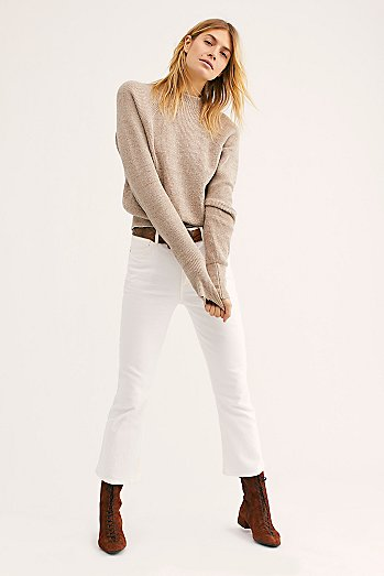 Citizen's of Humanity Demy Cropped Flare Jeans