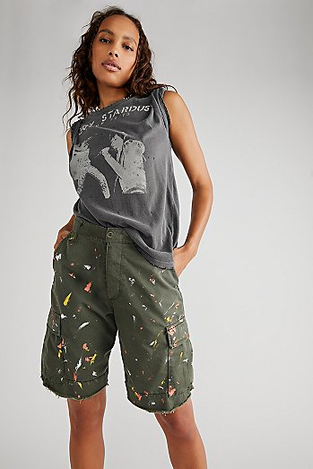 Long Stroke Military Shorts