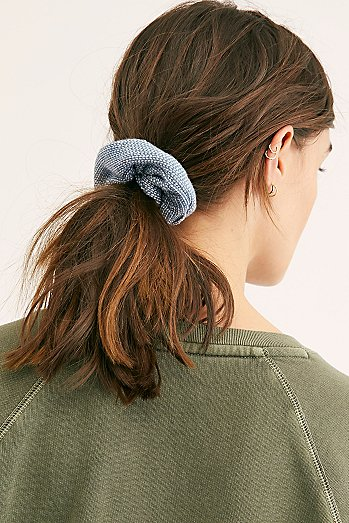Textured Scrunchie