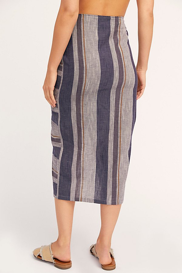 Slide View 3: Big Sur Midi Skirt