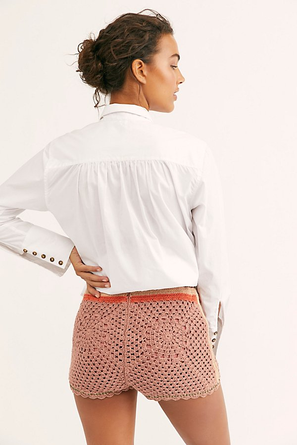 Slide View 2: Kaia Crochet Shorts