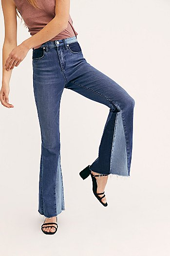 Blank NYC Mix and Match Flare Jeans