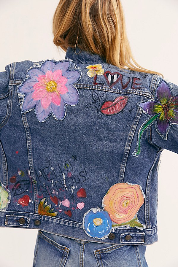 Slide View 4: Rialto Jean Project Hannah Denim Jacket