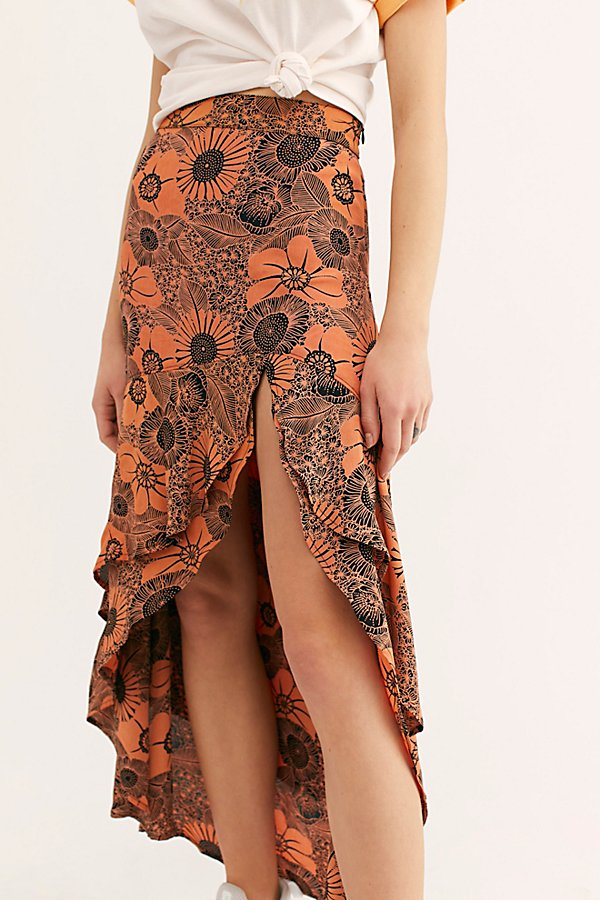 Slide View 3: Nadia Midi Skirt