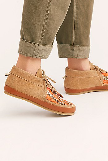 Figue Striped Desert Moccasin