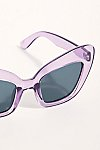 Thumbnail View 3: Extreme Cat Eye Sunglasses