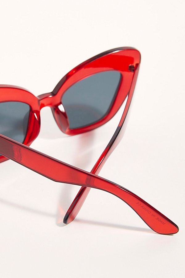 Slide View 5: Extreme Cat Eye Sunglasses