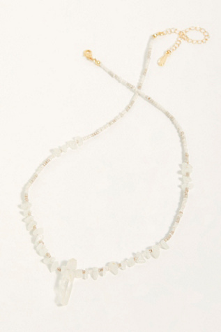 Crystal Love Necklace by Free People