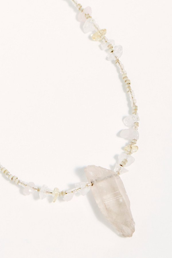 Slide View 3: Crystal Love Necklace