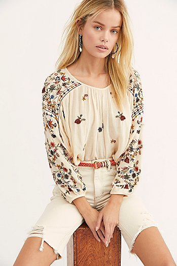Wild Flowers Blouse