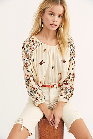 Wild Flowers Blouse by Free People