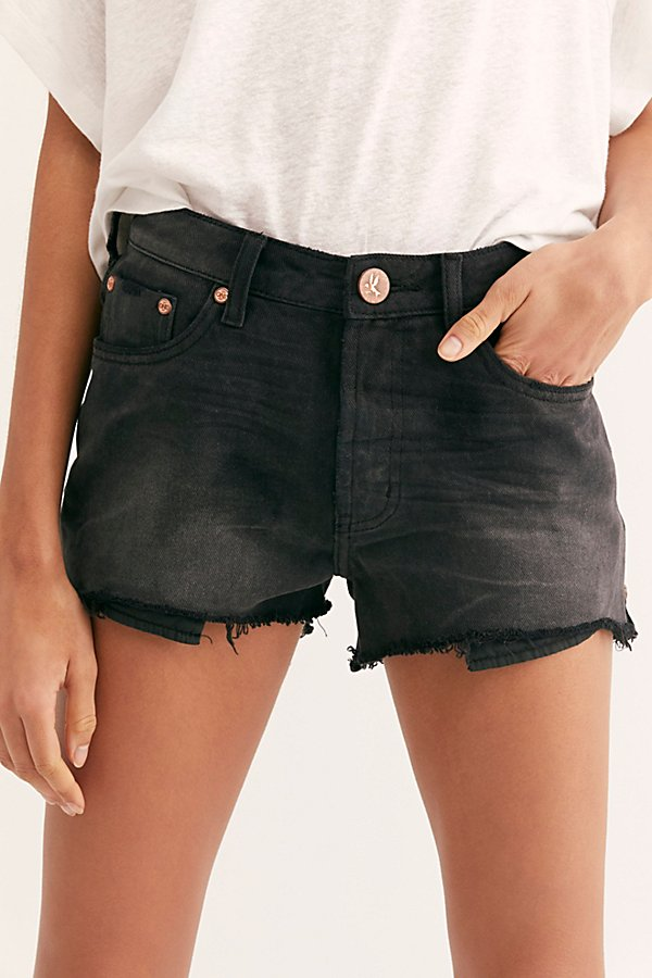 Slide View 3: OneTeaspoon Truckers Relaxed Shorts