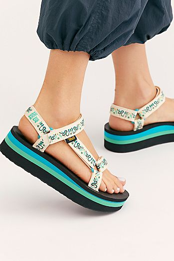 d7961dedf8ce Teva x Anna Sui Flatform Universal Sandal