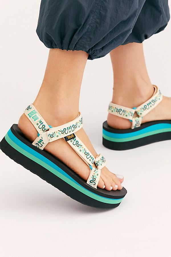 Teva People Sui Anna Flatform X Universal SandalFree Rc3AL4jqS5
