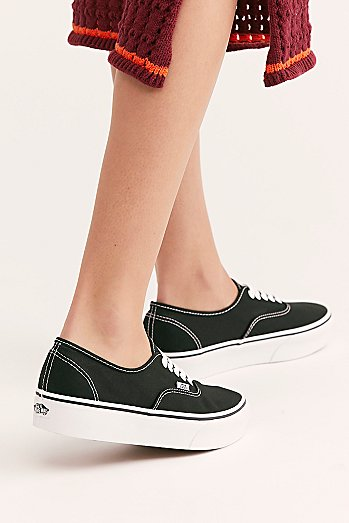 Authentic Platform Sneaker