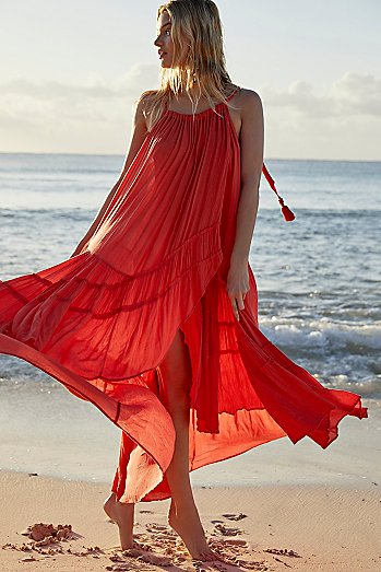 Bare It All Maxi Dress