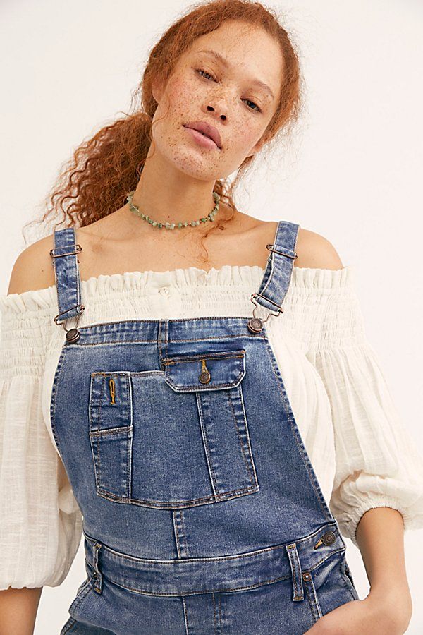 Slide View 3: Contour Skinny Dungarees