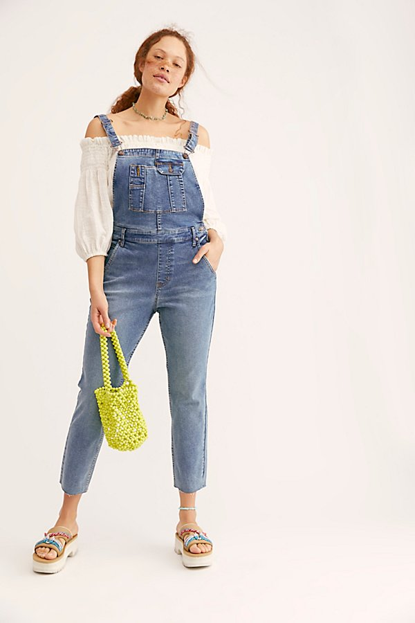 Slide View 4: Contour Skinny Dungarees