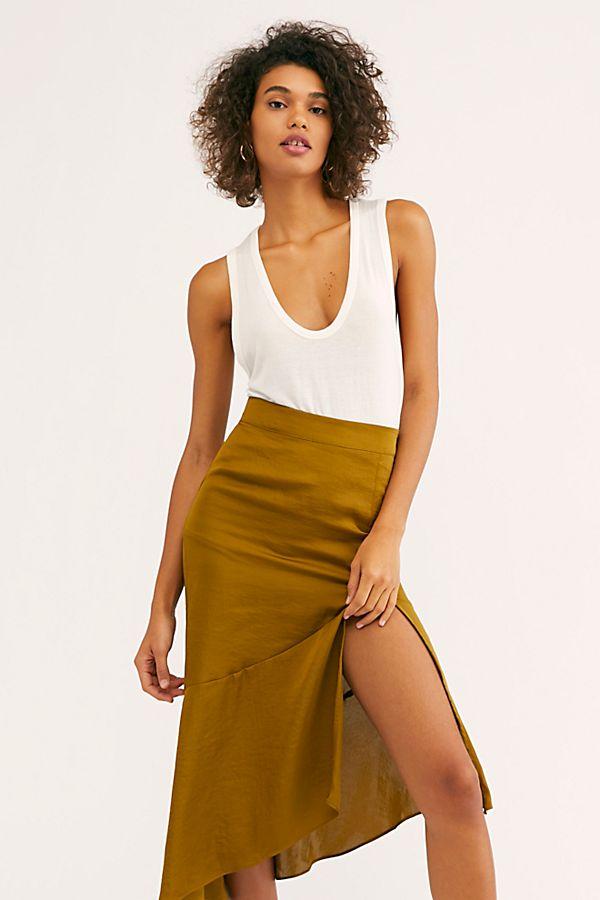 67cad44fef Slide View 1: Lola Slit Skirt