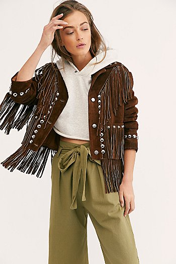 Fringe Studded Jacket