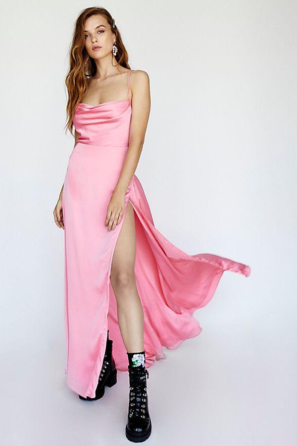 Basic Maxi Jurk.The Rosabel Maxi Dress Free People