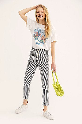 Frankie High Waist Skinny Trousers