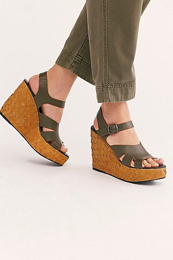 Sunflower Wedge Sandal