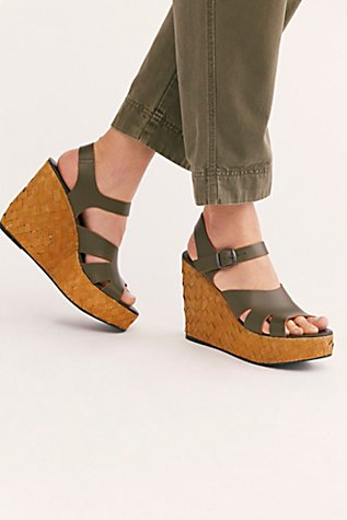 Sunflower Wedge Sandal by Free People