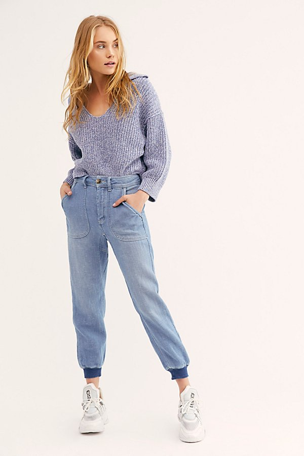 Slide View 1: Skye Relaxed Boyfriend Jeans