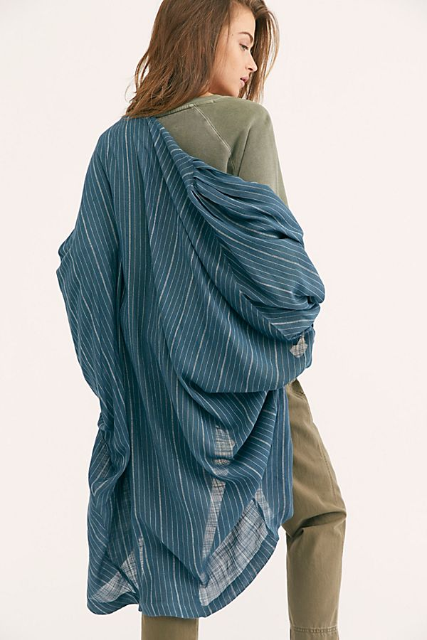 8492c72ab Slide View 1: Beach House Stripe Kimono