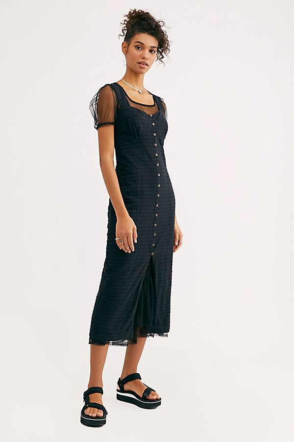 Slide View 3: Lafayette Midi Dress