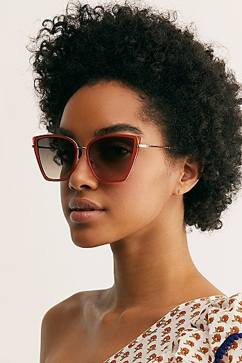 Lucy Oversized Cat Eye Sunglasses