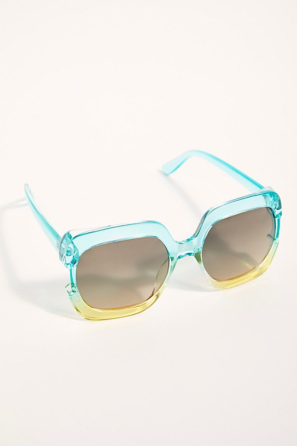 Slide View 2: Gradient Real Deal Oversized Sunglasses
