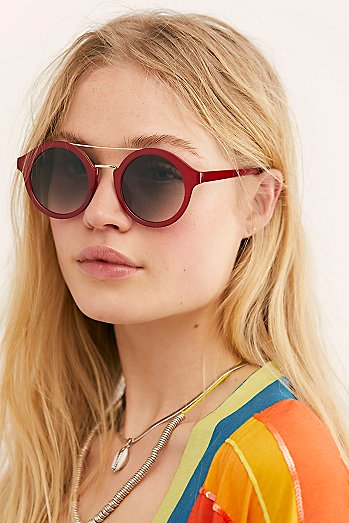 Not Your Average Matte Aviator Sunglasses