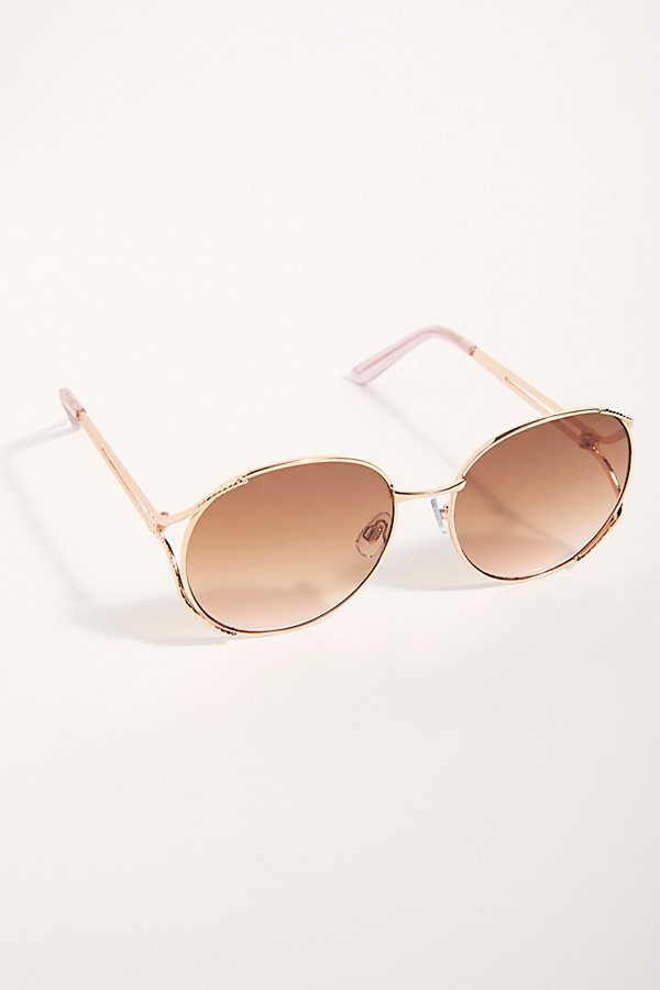 Slide View 2: Penny Lane Oversized Sunglasses