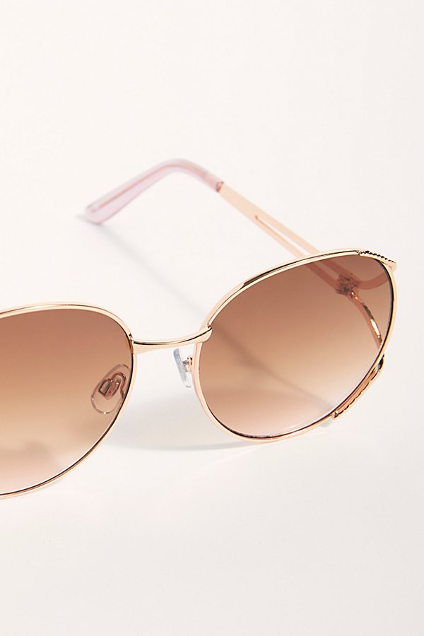 Slide View 3: Penny Lane Oversized Sunglasses