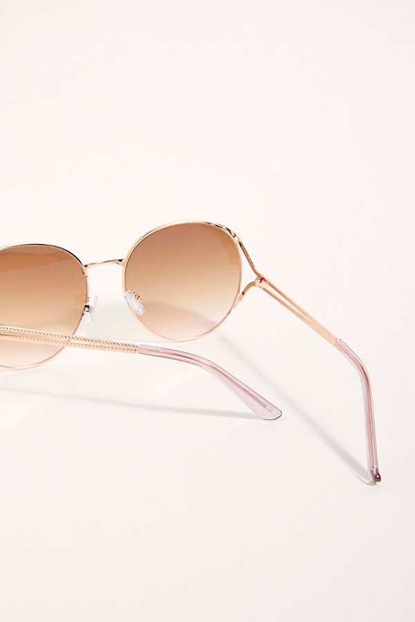 Slide View 4: Penny Lane Oversized Sunglasses
