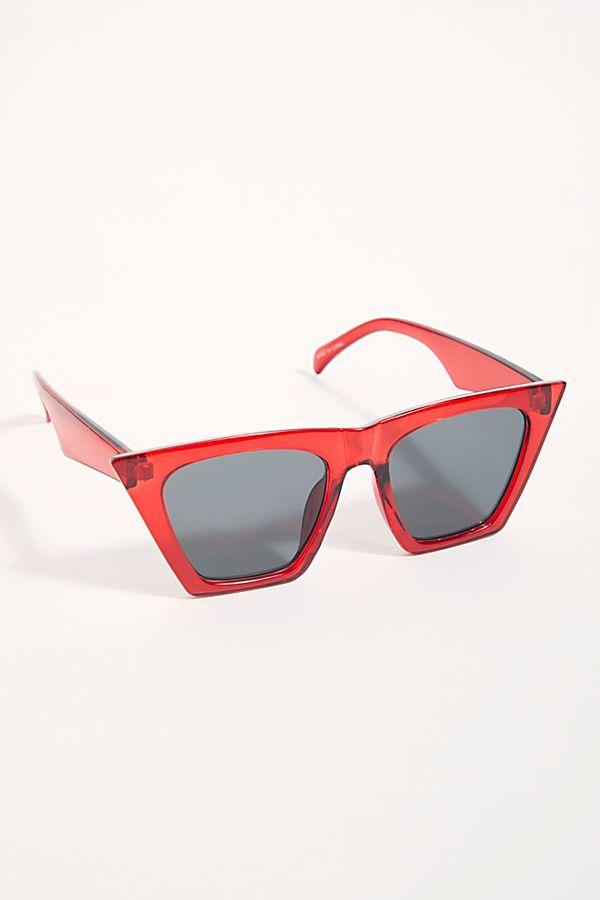 Slide View 1: Amsterdam Cat Eye Sunglasses