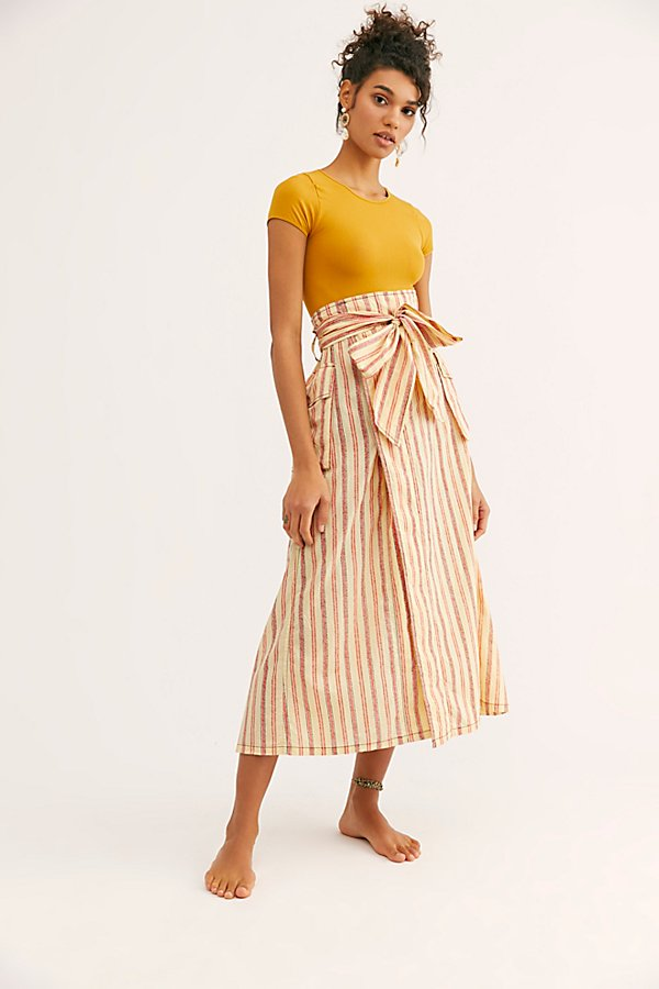 Slide View 2: FP One Natalia Striped Skirt