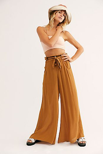 8a362a0a1786 Women's Wide Leg Pants | Flare, Flowy & High Waisted | Free People