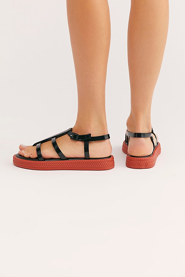 Slide View 4: Vegan Lydia Sandal