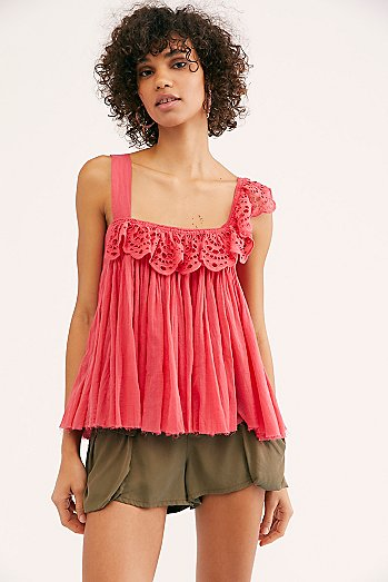 FP One Garden Party Eyelet Top