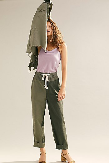 Mixed-Up Utility Trousers