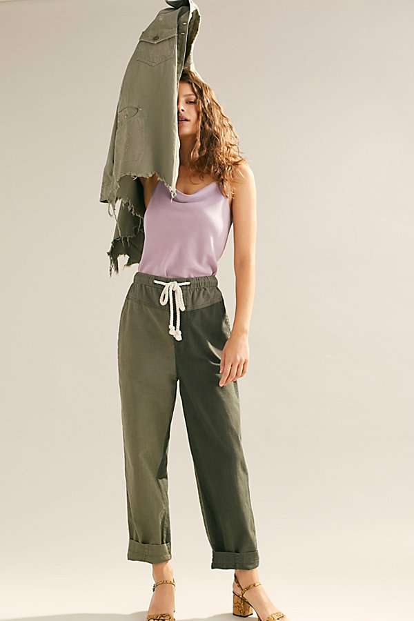 Slide View 5: Mixed-Up Utility Pants