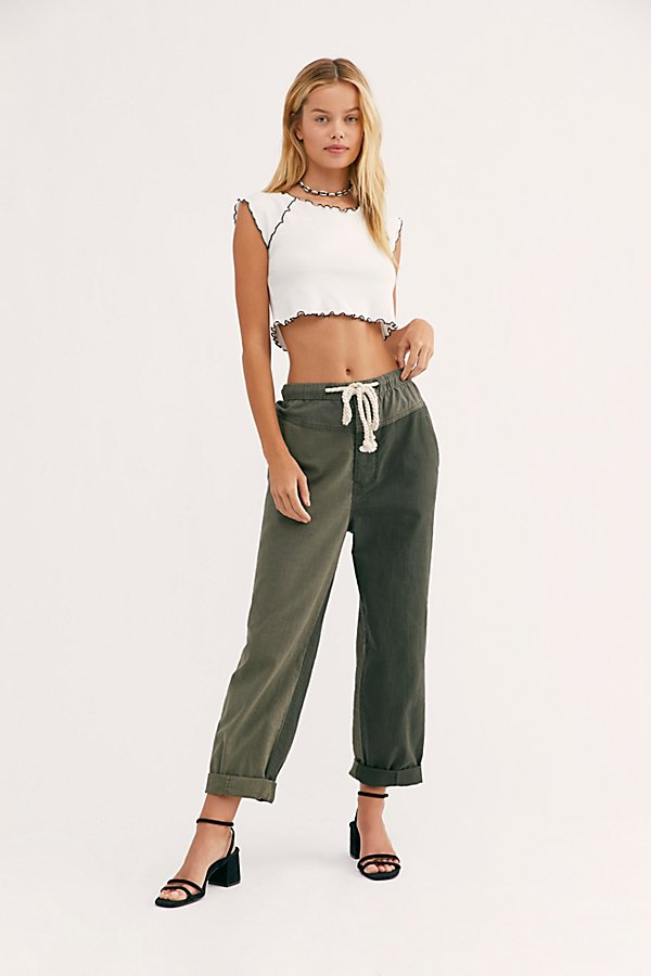 Slide View 1: Mixed-Up Utility Pants