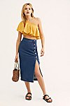 Thumbnail View 1: Jasmine Buttoned Midi Skirt