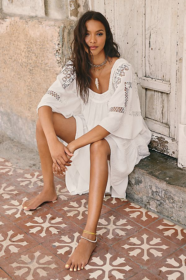 Gemma Limited Edition White Dress | Free People