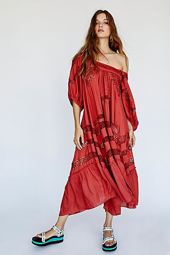 f80333222 Maxi Dresses: White, Black, Lace & More | Free People