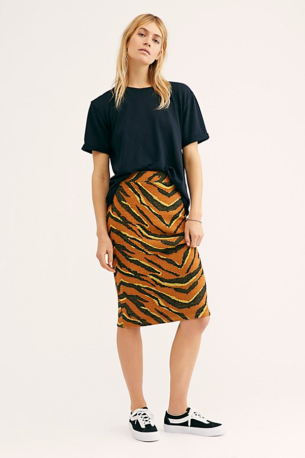 Slide View 1: Easy Tiger Midi Skirt